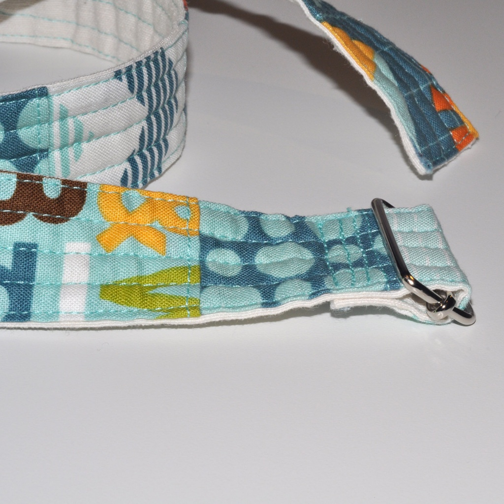 Cinturó infantil patchwork blau