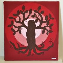 Quilt arbre de la vida