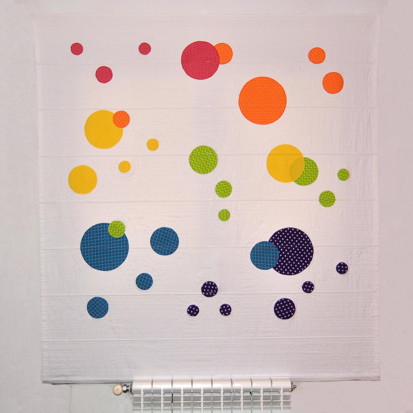Cortina cercles colors