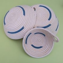 Canastro corda blau