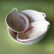 Canastro corda coral