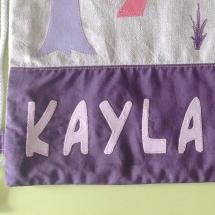 Detall bossa tela Kayla