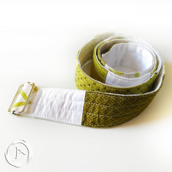 Cinturó Tela patchwork - Verd