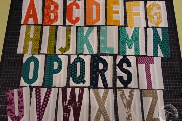 Classic Alphabet Paper piecing