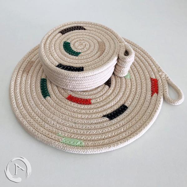 Murg rug rope multicolor