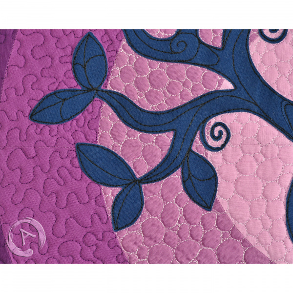 Quilt Art Tree of Life Lilac- Body