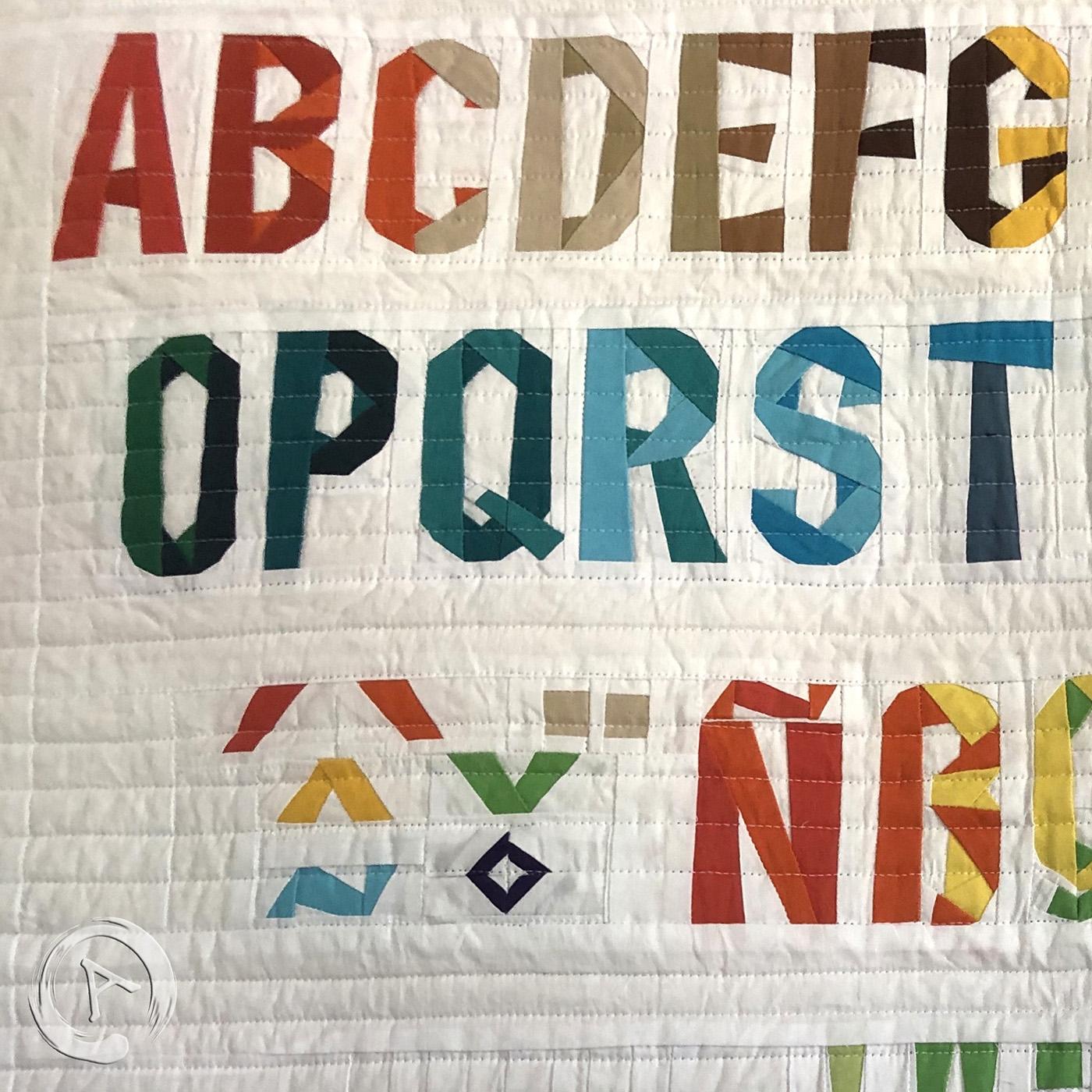 Paper Pieced Alphabet Quilt Pattern Quilt Pattern