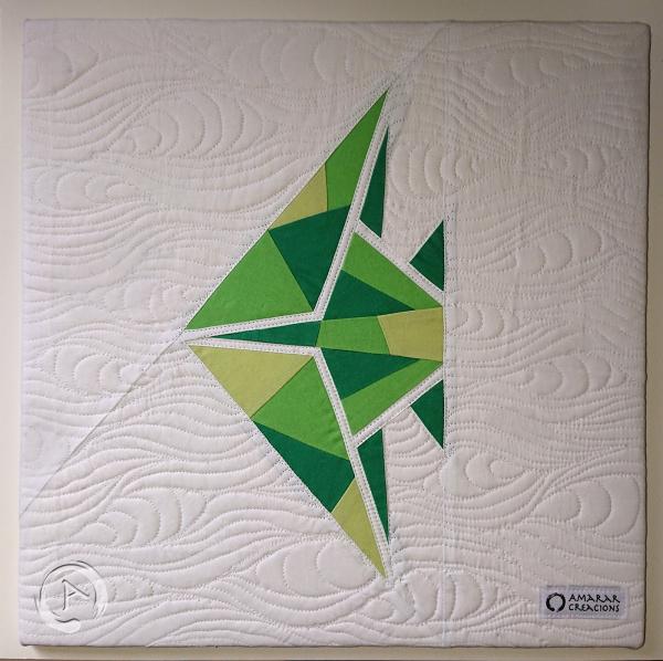 FPP Pattern -Origami Green Fish multic 16.5 FPP - Final 2