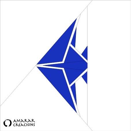 PEIX Origami - llis. Patró FPP